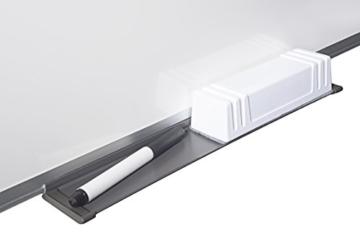 Bi-Silque MA0212170 Maya Whiteboard mit Aluminiumrahmen und Raster - 4