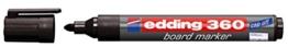 edding Whiteboardmarker edding 360, nachfüllbar, 1,5 - 3mm, schwarz - 1