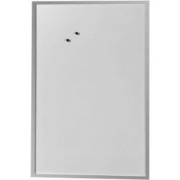 Herlitz Whiteboard 60x80cm beschriftbar Holzrahmen silber - 1