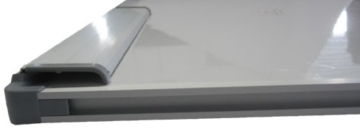 Idena 568019 - Whiteboard Alu-Rahmen, ca. 40 x 60 cm, mit Stiftablage - 3