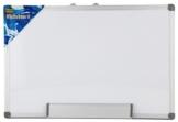 Idena 568024 – Whiteboard, mit Aluminiumrahmen und Stiftablage, inklusive 2 Schrauben, 40 x 30 cm - 1