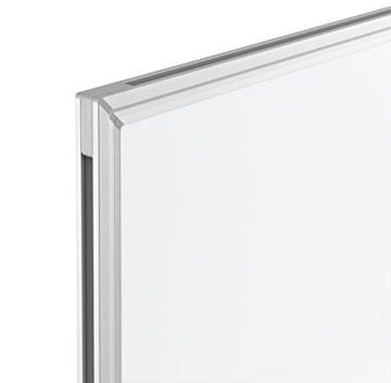 magnetoplan Whiteboard SP 150 x 100 cm, in weiteren Größen auswählbar, mit speziallackierter Oberfläche, Metallrückwand, inklusive Befestigungsmaterial - 4