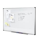 MOB Whiteboard Economy | schutzlackiert & magnethaftend - im stabilen Alurahmen - 90x120cm - 1