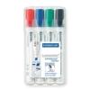 Staedtler 351 B WP4 Board-Marker Lumocolor whiteboard marker, Staedtler Box mit 4 Farben - 1