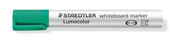 Staedtler 351 WP6 Lumocolor Whiteboardmarker, 6 Stück in aufstellbarer Staedtler Box, farblich sortiert - 4