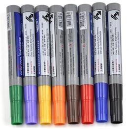 Veroda 8 Farben Kinder Whiteboard Zeichnung Stift Schreiben Markers - 1
