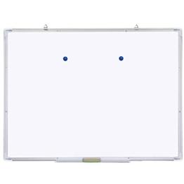 Yahee Whiteboard mit Alurahmen, magnetisch (120x90cm) - 1