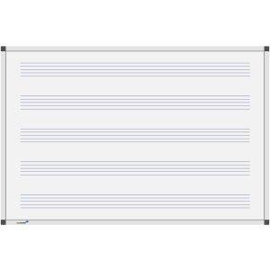 Legamaster Whiteboard Premium Notenlinien 45x60cm -
