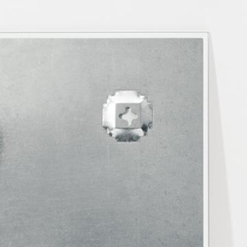 Be!Board B1300 Glas-Magnettafel / Whiteboard weiß, 90 x 60 cm - 3 Größen möglich -