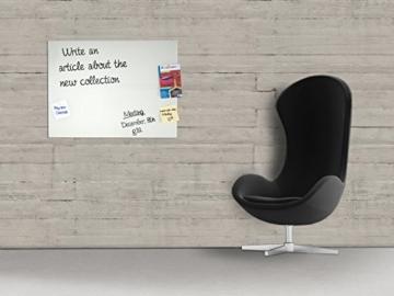 Master of Boards® Glas Magnettafel Lissabon - 5 Größen wählbar - 60x80cm -