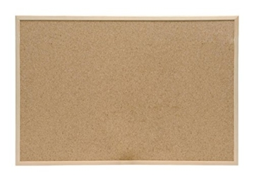 5 Star Office 906705 Korktafel 60 x 40 cm Kork / Holz Stück, braun - 1