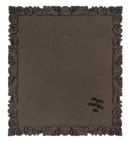 Bi-Office Korktafel Rococork, rahmenlos, hochwertige Korkoberfläche, schwarz, 40 x 45 cm - 1