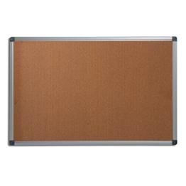 Office Marshal® Profi - Pinnwand mit hochwertiger Kork - Oberfläche | im stabilen Aluminiumrahmen | 4 Größen | 60x90cm - 1