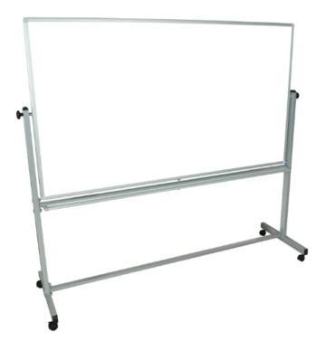 Beidseitig mobiles Magnet-Whiteboard (180cm x 100cm) - 1