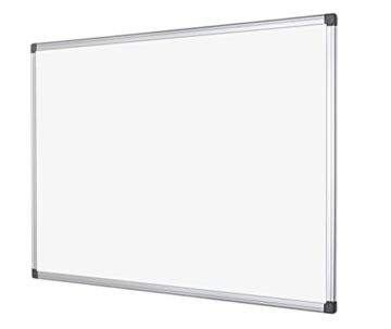 Bi-Silque MA0212170 Maya Whiteboard mit Aluminiumrahmen und Raster - 2