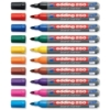 Edding 4-250999 Boardmarker 250, nachfüllbar, 1,5 - 3 mm, Sortiert, 10er Set - 1