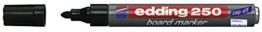 Edding Whiteboardmarker 250, nachfüllbar, 1.5 - 3 mm, schwarz - 1