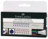 Faber-Castell 158304 - Whiteboardmarker GRIP, 4er Etui,  Inhalt: rot, blau, grün und schwarz - 1