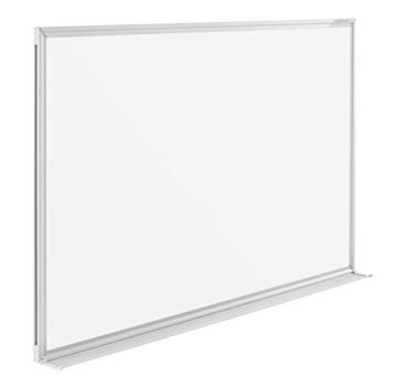 magnetoplan Whiteboard SP 150 x 100 cm, in weiteren Größen auswählbar, mit speziallackierter Oberfläche, Metallrückwand, inklusive Befestigungsmaterial - 2