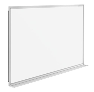 magnetoplan Whiteboard SP 180 x 90 cm, in weiteren Größen auswählbar, mit speziallackierter Oberfläche, Metallrückwand, inklusive Befestigungsmaterial - 2