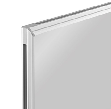 magnetoplan Whiteboard SP 180 x 90 cm, in weiteren Größen auswählbar, mit speziallackierter Oberfläche, Metallrückwand, inklusive Befestigungsmaterial - 3