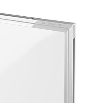magnetoplan Whiteboard SP 60 x 45 cm, in weiteren Größen auswählbar, mit speziallackierter Oberfläche, Metallrückwand, inklusive Befestigungsmaterial - 5