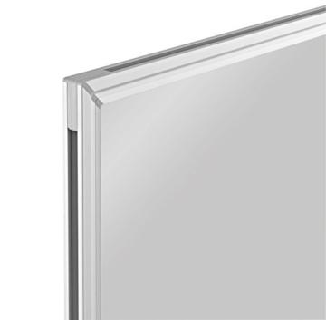 magnetoplan Whiteboard SP 90 x 60 cm, in weiteren Größen auswählbar, mit speziallackierter Oberfläche, Metallrückwand, inklusive Befestigungsmaterial - 3
