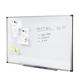 MOB Whiteboard Economy | schutzlackiert & magnethaftend - im stabilen Alurahmen - 60x90cm - 1