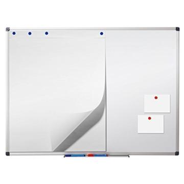 Office Marshal® Profi - Whiteboard mit schutzlackierter Oberfläche | magnethaftend | 7 Größen | 60x90cm - 2