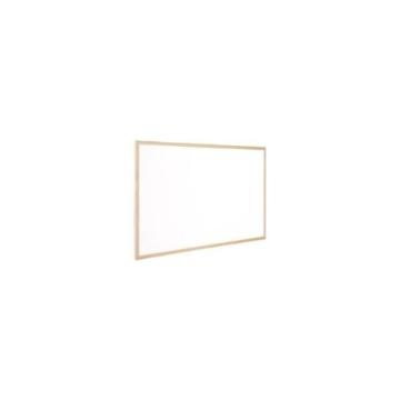 Q-Connect KF03572 Whiteboard 120 x 90 cm mit Holzrahmen - 1