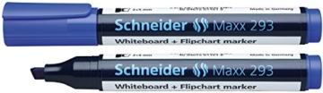 Schneider 293 Board-/Flipchartmarker (nachfüllbar, 2 - 5 mm) 4er Etui schwarz/rot/blau/grün - 4