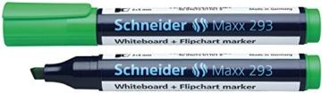 Schneider 293 Board-/Flipchartmarker (nachfüllbar, 2 - 5 mm) 4er Etui schwarz/rot/blau/grün - 5
