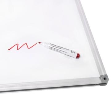 Whiteboard Zubehör Set : 5 Marker / Boardmarker Stifte bunt (4 Farben) + 1 Schwamm Löscher magnetisch für Schreibtafel Magnettafel | Grundausstattung - 3