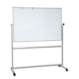 Mobiles Classic Whiteboard - Stativ-Drehtafel 200x100 cm -