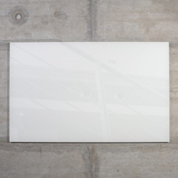Glas Magnetboard MAX 80x50 cm weiß inkl. 5 Magnete, Glasmagnettafel / Magnettafel / Magnetwand / Memoboard -