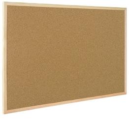 Bi-Office Korktafel / Pinnwand mit Holzrahmen- 5 Größen wählbar - 60 x 40 cm - 1