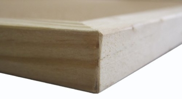 Idena Pinnwand mit Holzrahmen 60 x 90 cm - inkl. 5 Pinwandnadeln und 2 Schrauben, 568023 - 5