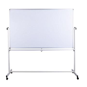 Mobile Whiteboard Tafel beidseitig beschriftbar,in 2 Größen, schutzlackiert, magnethaftend, mit gratis Zubehör (Stifte,Schwämme,Magnete), Größe:180x100 cm - 3