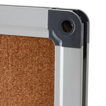 Office Marshal® Profi - Pinnwand mit hochwertiger Kork - Oberfläche   im stabilen Aluminiumrahmen   4 Größen   60x90cm - 2