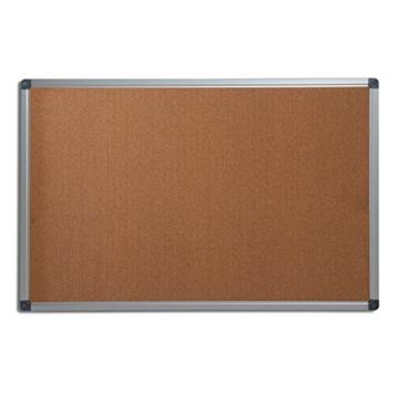Office Marshal® Profi - Pinnwand mit hochwertiger Kork - Oberfläche   im stabilen Aluminiumrahmen   4 Größen   60x90cm - 1