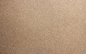 Pinnwand Korkplatte 94 x 58 cm 5 mm stark, XXL Format - 1
