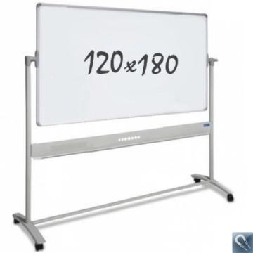 Whiteboard – mobil – doppelseitig – magnetisch – 120x180cm - 1